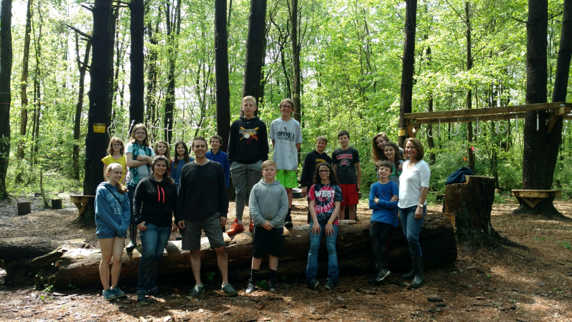Confirmation Low Ropes